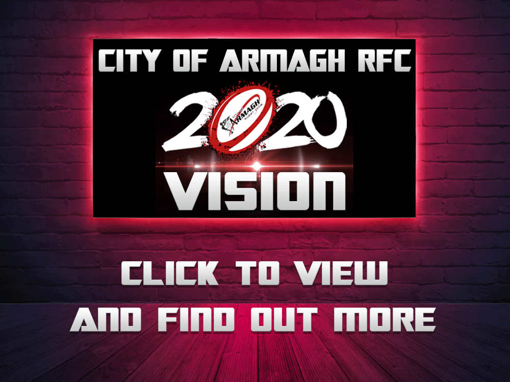 City of Armagh RFC Senior Cup Win