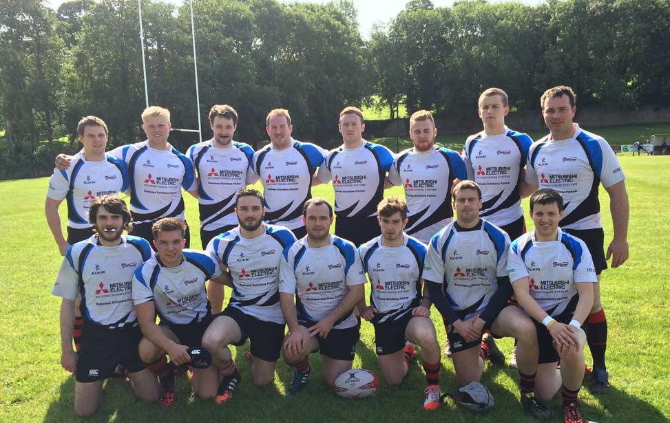 City of Armagh RFC 4XV 2015-2016 Team Image