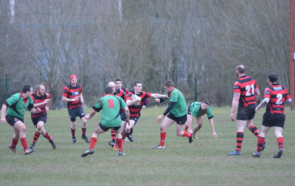 City of Armagh 4XV vs PSNI 2XV